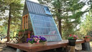 A Frame House Cost Tiny A Frame Cabin Costs Just 700 To Build Curbed