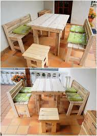 Pallets Patio Furniture - awesome diy wooden pallet ideas that can improve your home