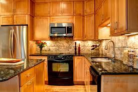 Kitchen Design Backsplash Interior Design Appealing Kraftmaid Kitchen Cabinets With Marble
