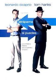 Pel�cula online Atr�pame si puedes. Pel�cula protagonizada por Carl Hanratty (Tom Hanks) y Frank W. Abagnale (Leonardo DiCaprio). 2002