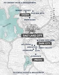 Lake Powell Map Ski Resorts In Utah Utah Ski Resorts Map Visit Utah