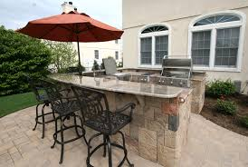 Ideas For Outdoor Kitchen U Shaped Outdoor Kitchen Ideas Outdoor Living Of Ohio