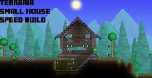 Small House Build Terraria Boreal Small House Speed Build Youtube