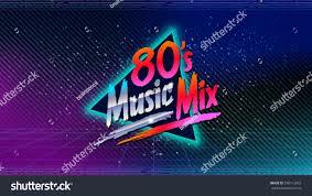 80s music mix retro style disco stock vector 598112063 shutterstock