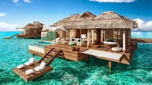 these new overwater bungalows in jamaica are what sweet vacation
