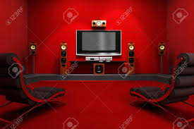 cool modern home theater room small home decoration ideas photo to