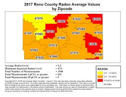 Reno Zip Code Map by County Map Kansas Radon Program