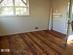 Hardwood And Laminate Flooring Linoleum Wood Flooring Faux Hardwood We Went With A Textured