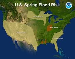 Drought Map Usa by Noaa Risk Of Major Flooding In Spring Is Low For The First Time