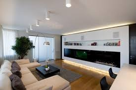 Living Room With Tv by Living Room Modern Living Room With Re And0grey Colored Wall With