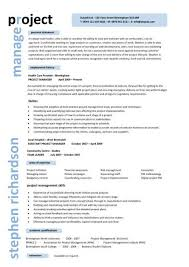 Technical Project Manager Cover Letter Examples     project management resume samples