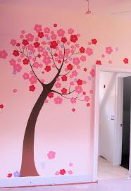 Bedroom Wall Decals Trees 81 Best Mural Playschool Ideas Images On Pinterest Flower Mural