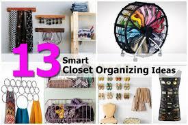 organizing closet ideas tips