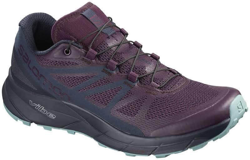 Salomon Sense Ride Trail Running Shoes, Bluebird