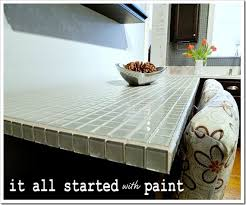 Tiled Kitchen Table by Get Inspired Kitchen Table Makeovers How To Nest For Less