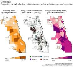Raleigh Zip Code Map by Drug Arrests Across America