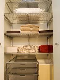 How To Make Closet Shelves by Organizing Your Linen Closet Hgtv