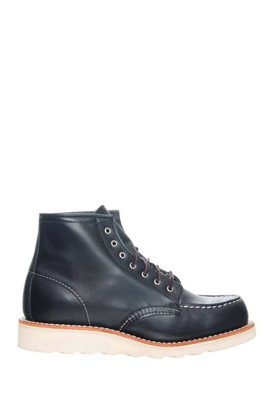 Red Wing Heritage 3373 6-Inch Moc Black Boundary Boots 03373