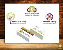 Design Custom Business Cards 3 Logo Concepts Etsy