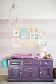Teal And Purple Bedroom by June U0027s Purple Teal And Mauve Striped Nursery Purple Dresser