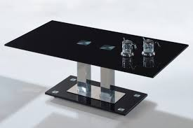 Simple Coffee Table by Furniture U0026 Accessories Black Tempered Glass Coffee Table Modern