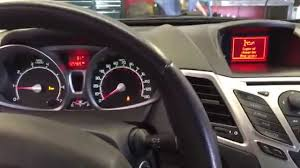 how to reset oil change reminder on 2012 ford fiesta youtube