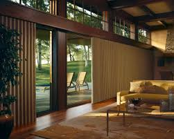 window coverings for sliding glass doors at the large space living