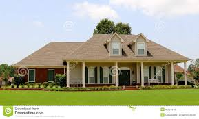 Ranch Style Home Beautiful Two Story Ranch Style Home Stock Photo Image 42124914