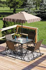Patio Umbrella Side Table by Furniture Exciting Walmart Patio Furniture Clearance With Beige