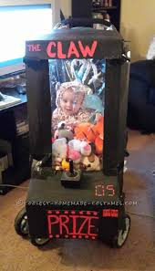 baby elephant costumes for halloween homemade baby stuck in an arcade game stroller costume stroller