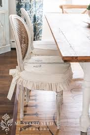 Pattern For Dining Room Chair Covers by Dining Chair Slips U0026 New Curtains Miss Mustard Seed