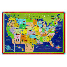 Kids World Map Children U0027s World Map Kids Wall Map Uncommongoods