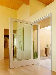 contemporary front doors with glass