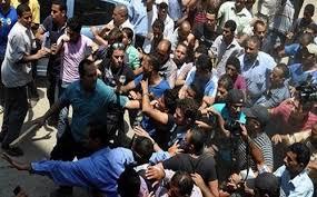 اشتباكات أنصار مرسي وأهالي الجمّالية