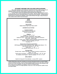 Application Resume Example by Best College Student Resume Example To Get Job Instantly