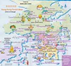 Printable Map Of Disney World Hong Kong Maps Tourist Attractions Streets Subway