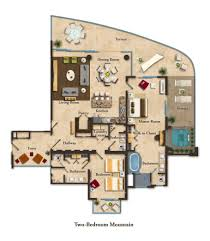 suite layouts garza blanca residence club two bedroom
