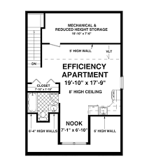 craftsman style house plan 1 beds 1 50 baths 840 sq ft plan 56 612
