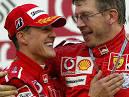 """... ich fünf Euro auf beide setzen"""", sagte Formel 1-Teamchef Ross Brawn."""