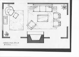 terrific living room furniture plans open kitchen floor plans