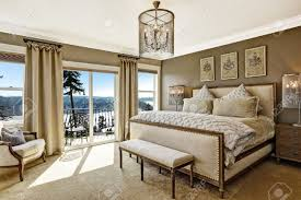 Luxury Classic Bedroom Designs Luxury Bedroom Interior With Rich Furniture And Scenic View From