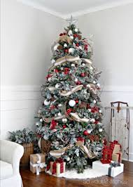 Christmas Home Decorations Pictures The 25 Best Rustic Christmas Trees Ideas On Pinterest Rustic