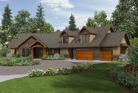 Craftsman Home Plans With Pictures Craftsman Ranch House Plans With Walkout Basement Residential