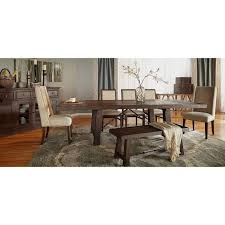 orient express furniture traditions carter 6 piece dining set with