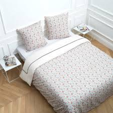 chemin de lit en lin parure de lit victoria multicolore madura