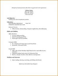 Simple Resume Examples For Students by Examples Of Resumes 79 Surprising Professional Job Search Health