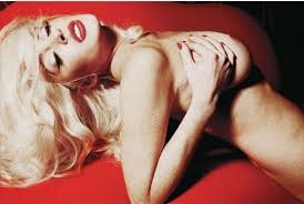 lindsay lohan spread for playboy
