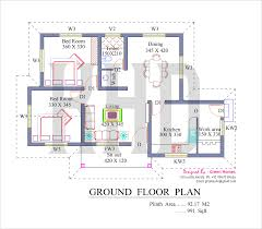2 bedroom house plan kerala crepeloversca com low cost house in kerala with plan photos 991 sq ft khp