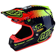 troy lee designs motocross helmet troy lee designs 2018 se4 composite team helmet at mxstore