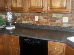 Backsplash Tile For Kitchen Peel And Stick Kitchen Brick Veneer Cost Stone Kitchen Backsplash Peel And